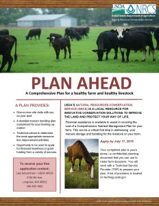 WSDA NRCS nutrient management plan financial assistance flyer